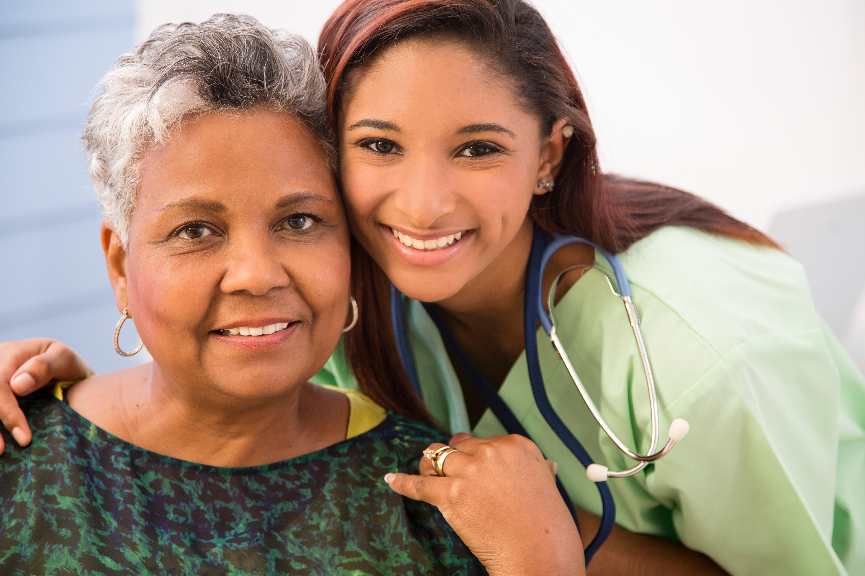 Nurse Caring for Patient