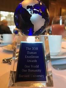 Human Excellence Award - Harvard