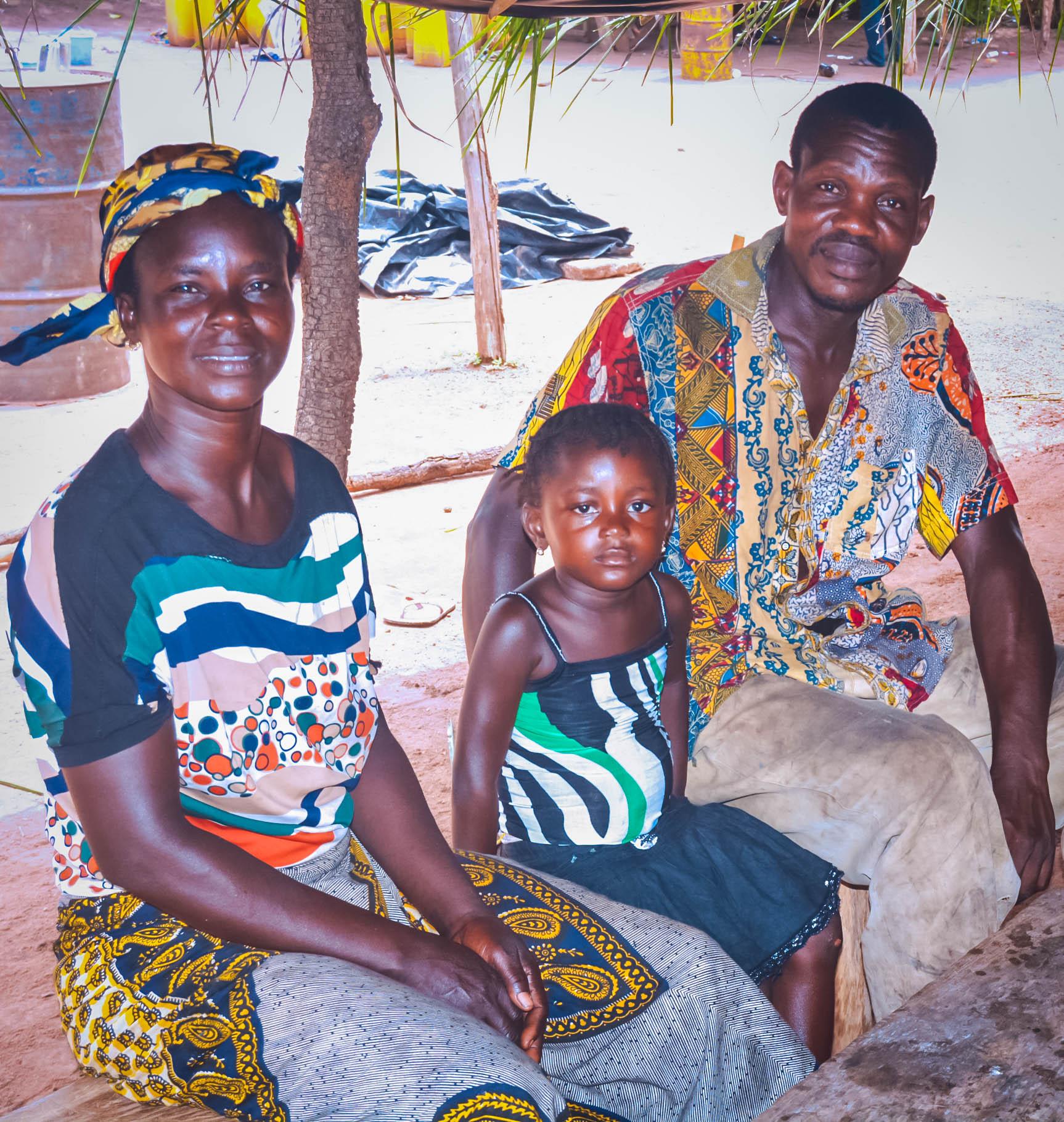 KOUADIO Jean-Claude and YAO Amoin Pauline with their child.jpg