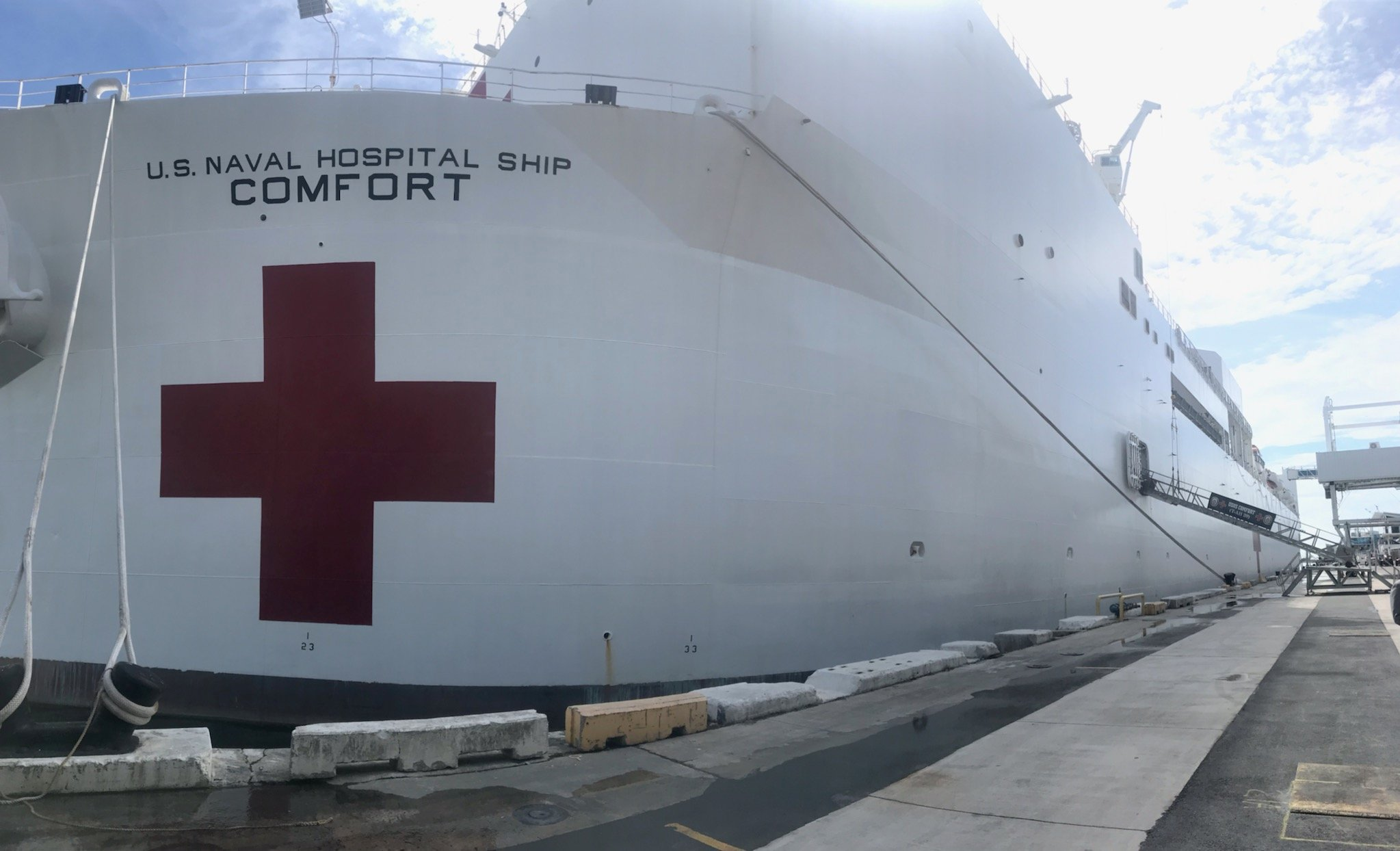 USNS Comfort - MAP Disaster Relief
