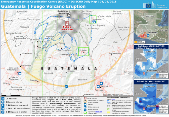 Deadly Lava And Ash Fuego Volcano Destroys Parts Of Guatemala
