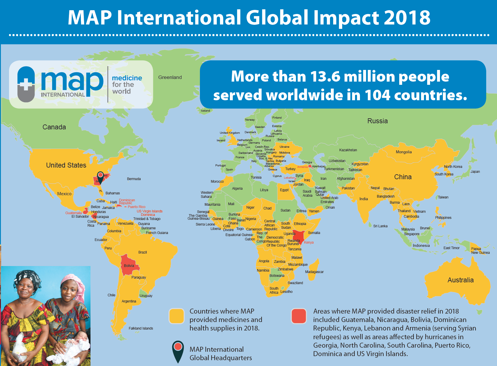 MAP International Our Impact - Medicine for the World