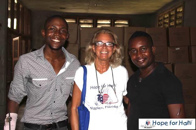 Hope for Haiti, Haiti